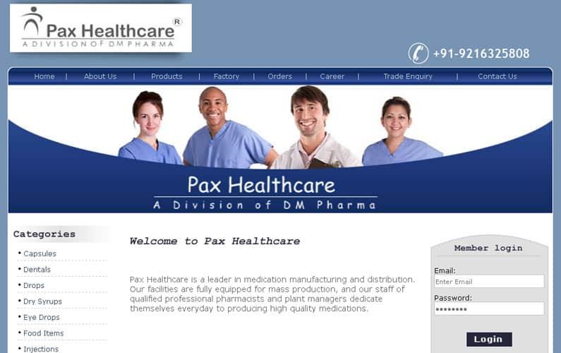 Pax Healthcare