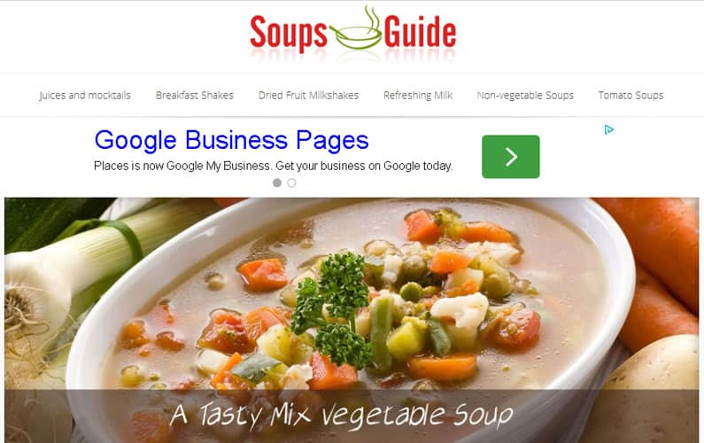 Soups Guide
